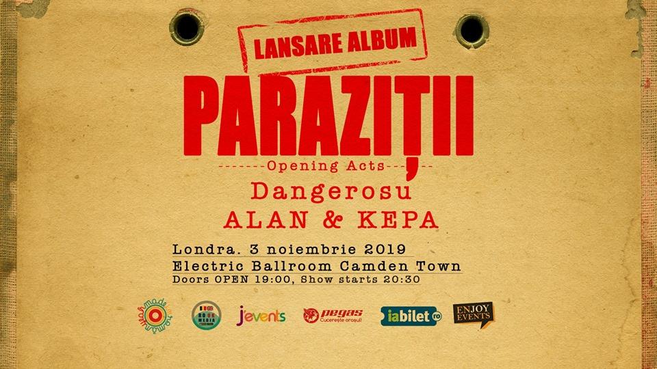 parazitii lansare album