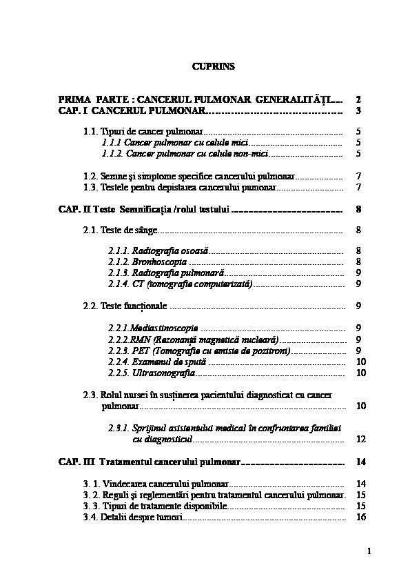 cancer pulmonar secundar simptome papillomavirus femme condylome