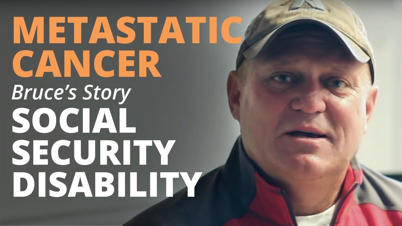 metastatic cancer disability renal cancer workup