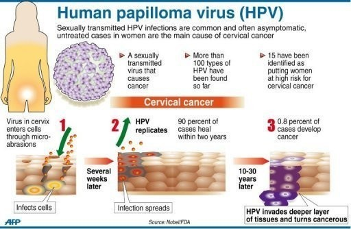 cervix cancer from hpv