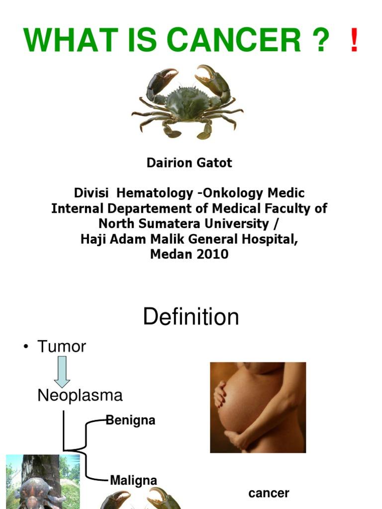 cancerul malign