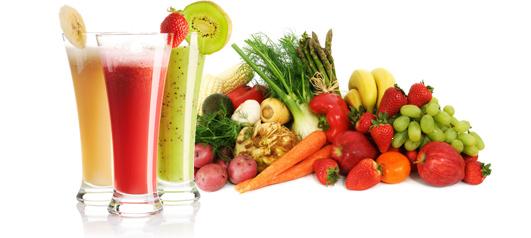 detoxifiere cu legume si fructe