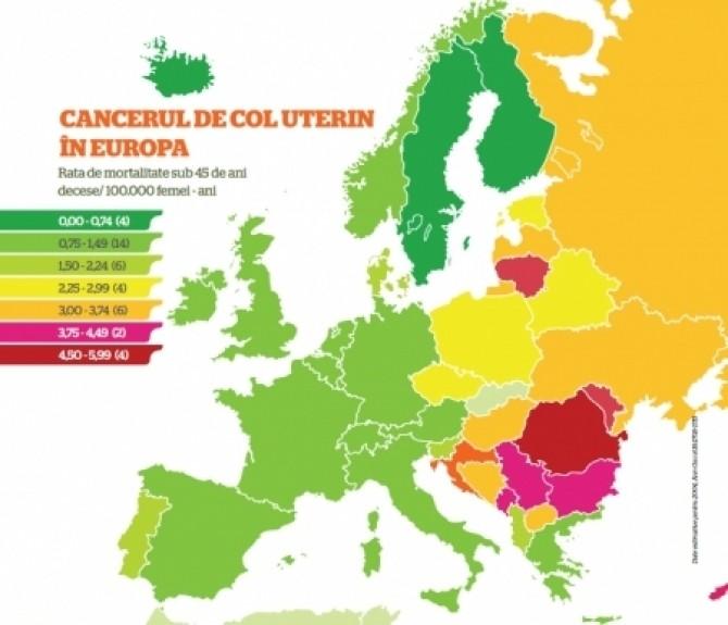 cancerul in romania bouton du papillomavirus