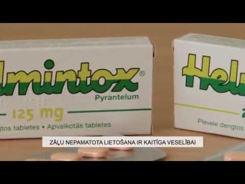 Helmintox, suspensie orala