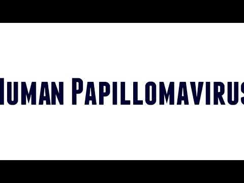papilloma virus pronunciation