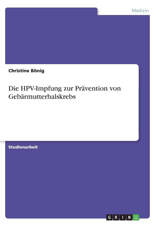 papillomavirus gebarmutterhalskrebs