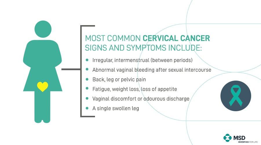cervical cancer fatigue