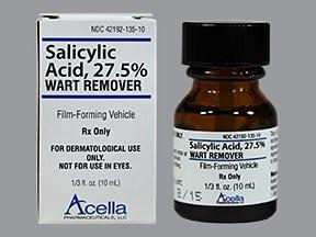 hpv warts salicylic acid