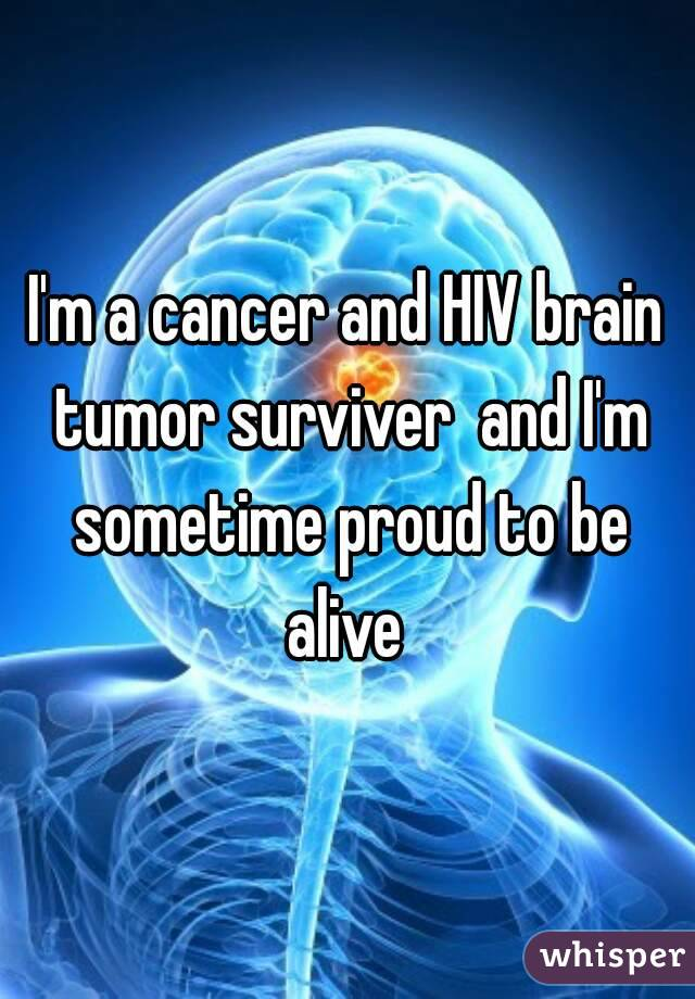 brain cancer from hiv