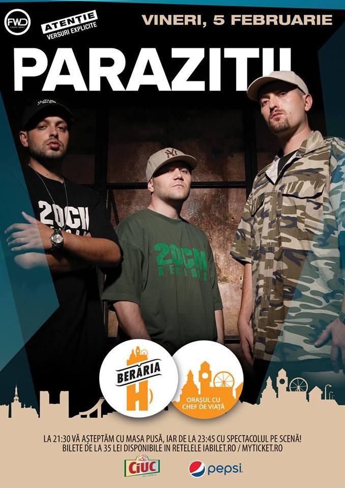 Parazitii in concert la Beraria H - Muzica HipHop / Rap   HipHopLive