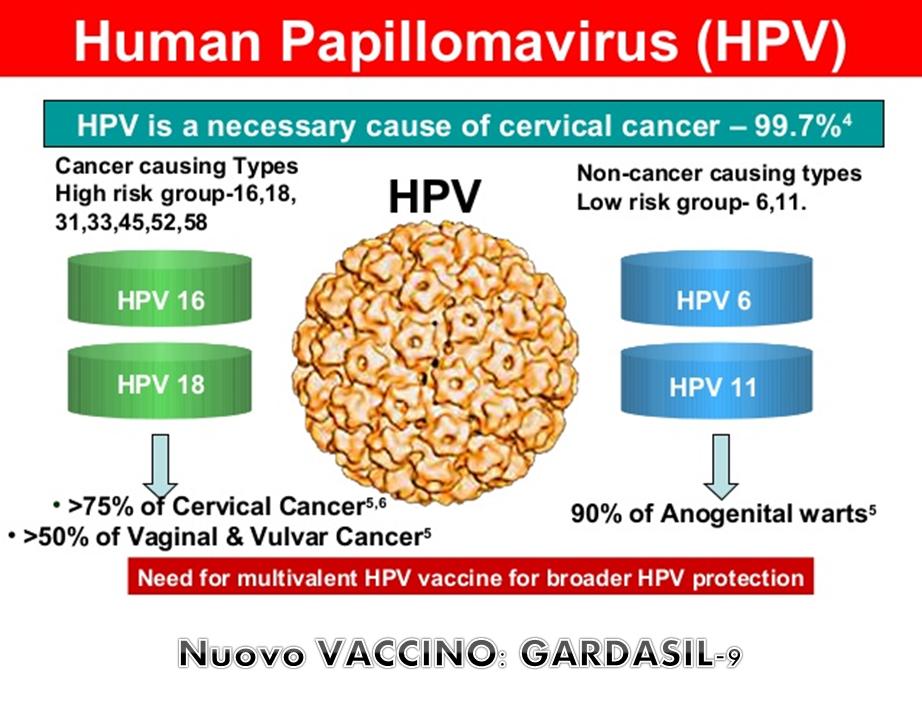vaccino papilloma 9 ceppi