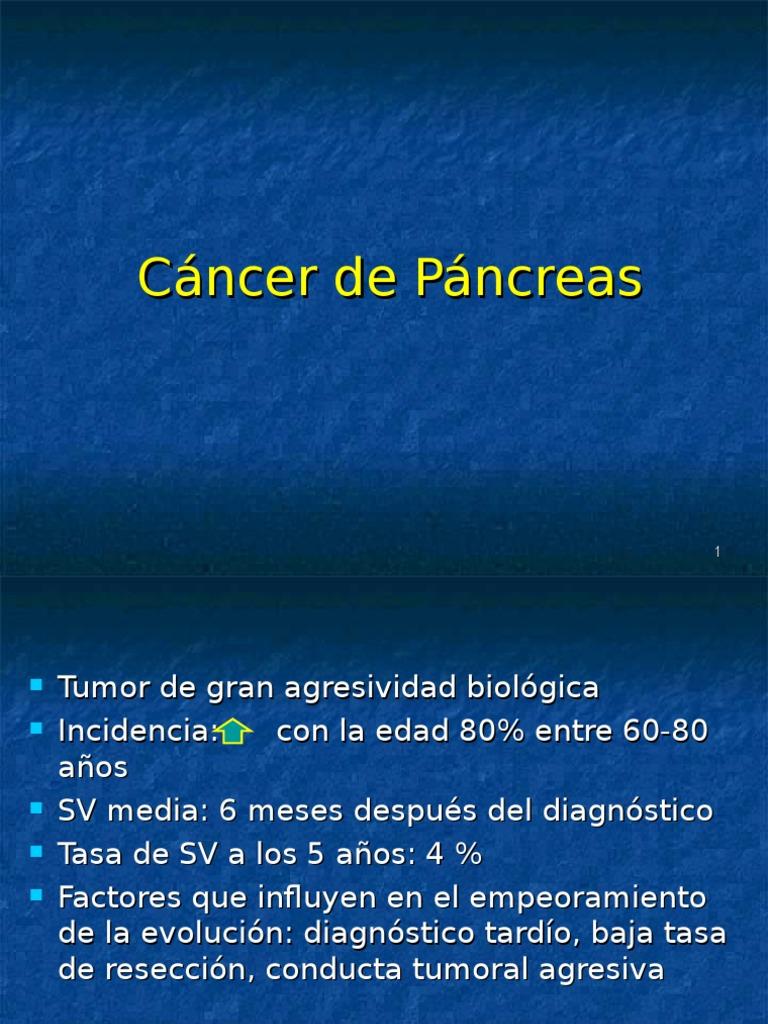 cancer pancreas localmente avanzado