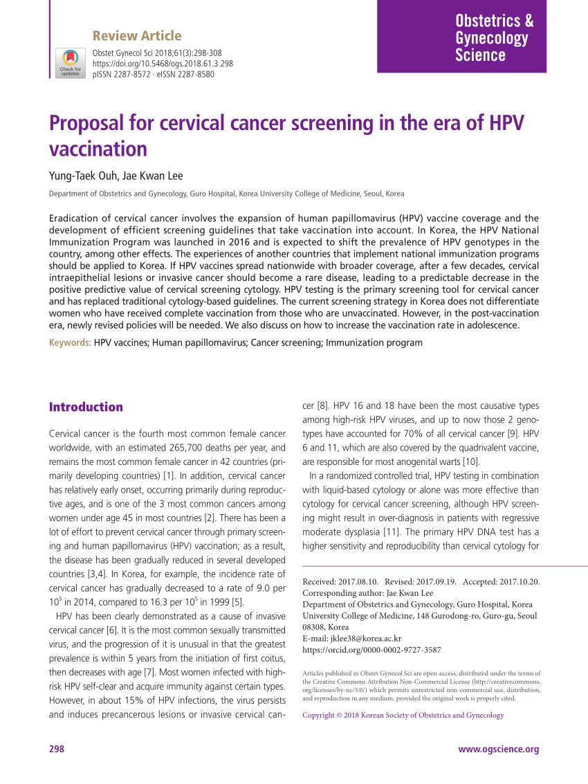 hpv cervical cancer commercial