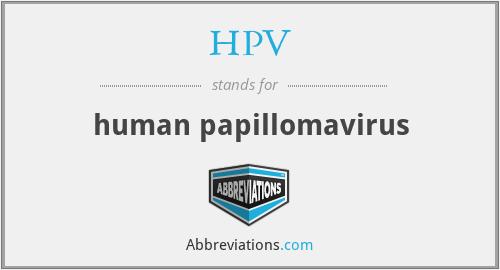 human papillomaviruses abbreviation aciclovir hpv treatment